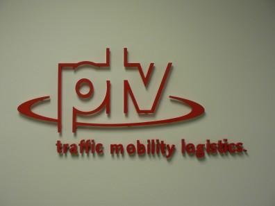reception signs - 3D Plexiglass