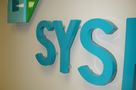 reception signs - 3D Plexiglass