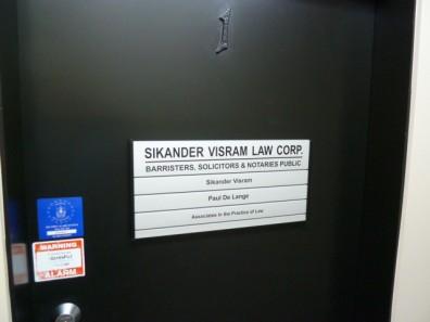 directory - Custom Made Door Signs