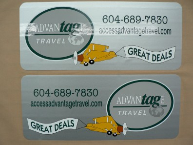 vehicle lettering - Magnetic Signs