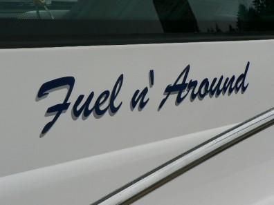 boat lettering - Pleasure Craft