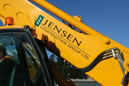 vehicle lettering - Construction Equipment