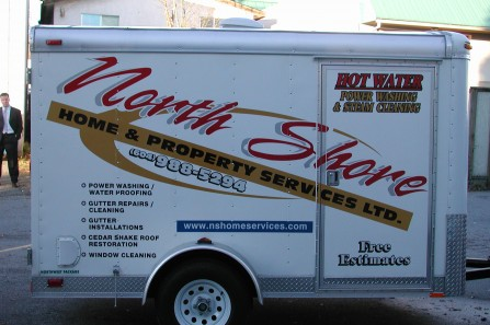 vehicle lettering - Trailers