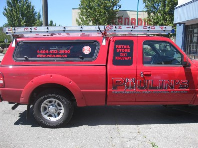 vehicle lettering - Pick-Up Trucks
