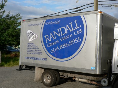vehicle lettering - Vehicle Wraps
